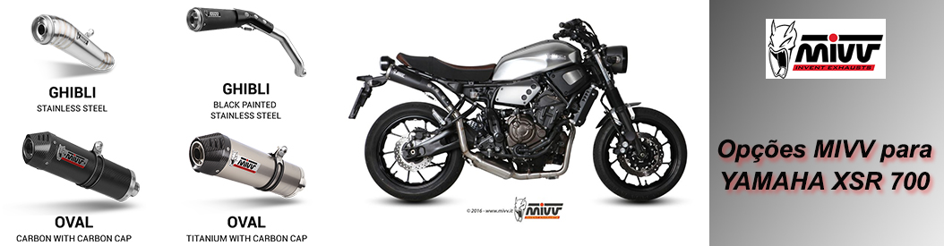 MIVV - Yamaha XSR700